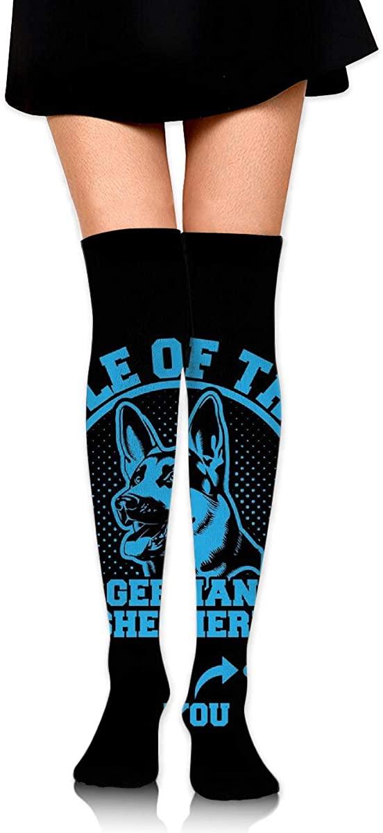 Game Life High Socks German Shepherd Dog Mom Sport Socks Crew Socks