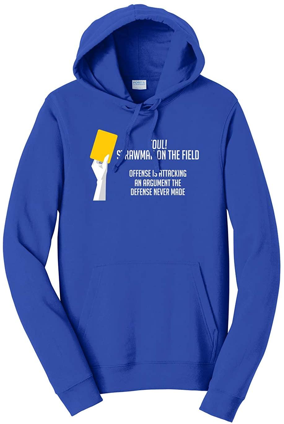 Tenacitee Unisex Strawman Logical Fallacy Hooded Sweatshirt
