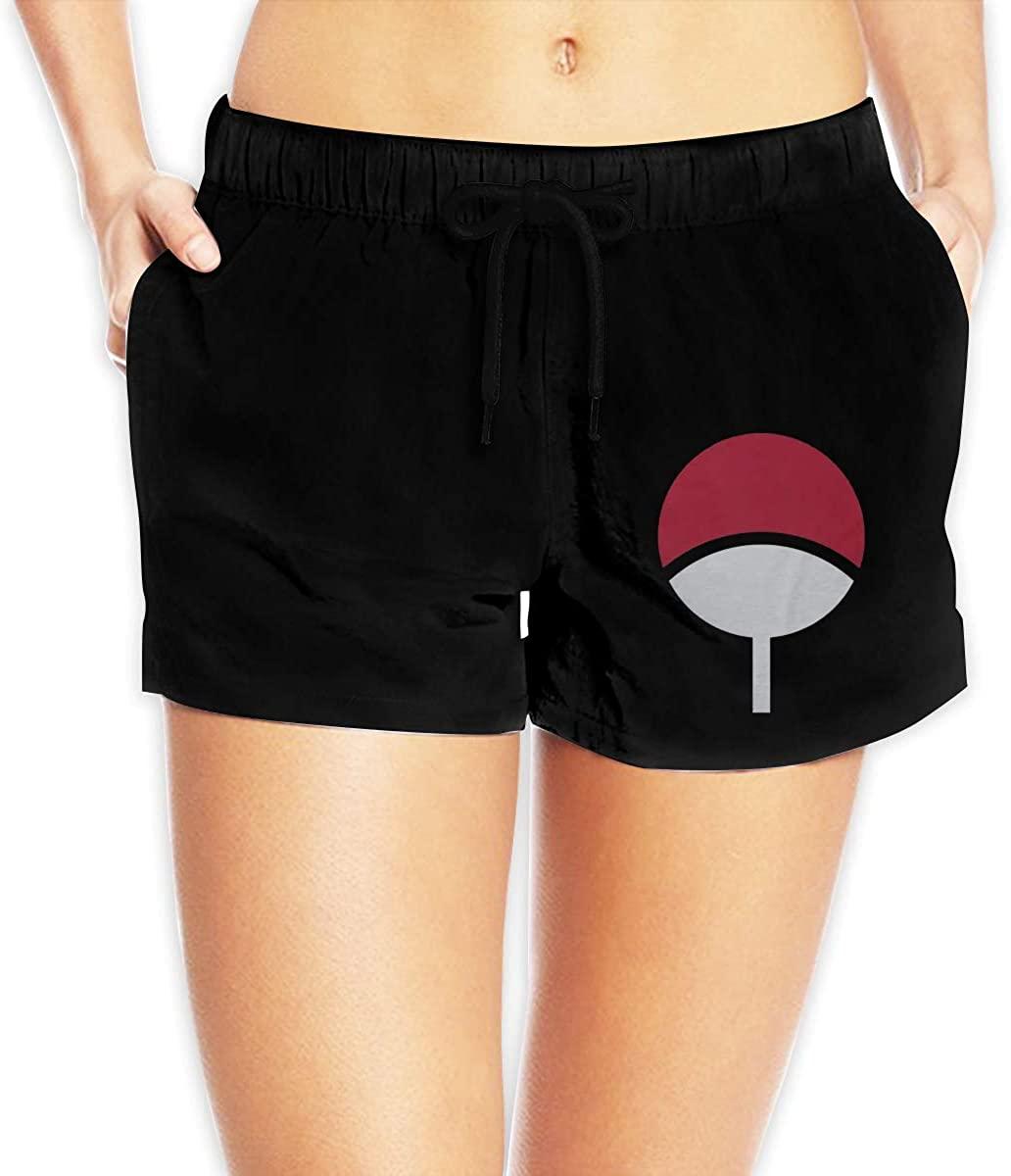 Women Sexy Hot Pants Summer Casual Shorts Uchiha Clan Short Beach Trousers