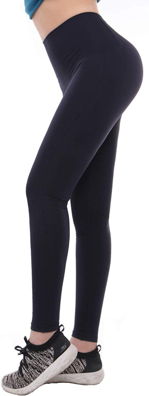 DENMEL Women Tummy Control Fitness Capris Skinny Sport Pant Running Active Yoga Energy High Waist Legging Solid