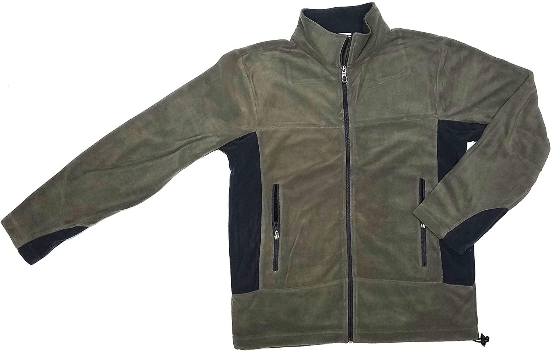 Colorado Timberline 11.5K Unisex Olive Green Lightweight Performance Microfiber Fleece Jacket Size Medium