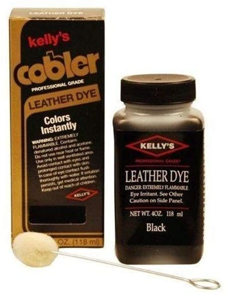 Kelly Cobler Leather Dye (Black)