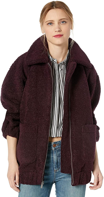 Splendid Women's Oversized Teddy Jacket
