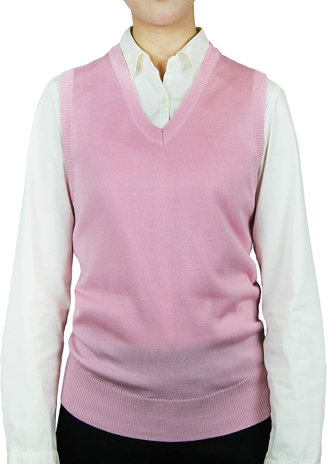 Blue Ocean Ladies Classic Sweater Vest