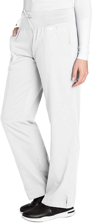 Grey's Anatomy Active 4276 Yoga Pant White 3XL
