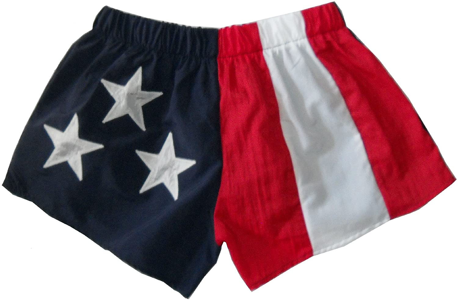 Stately American Flag Adult Low Rise Running Shorts