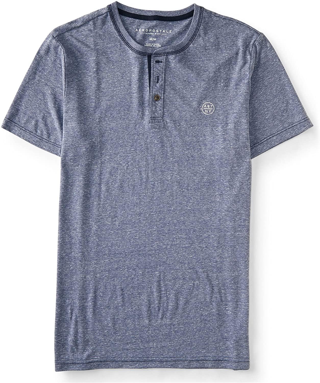 AEROPOSTALE Womens A87 Ny Henley Shirt