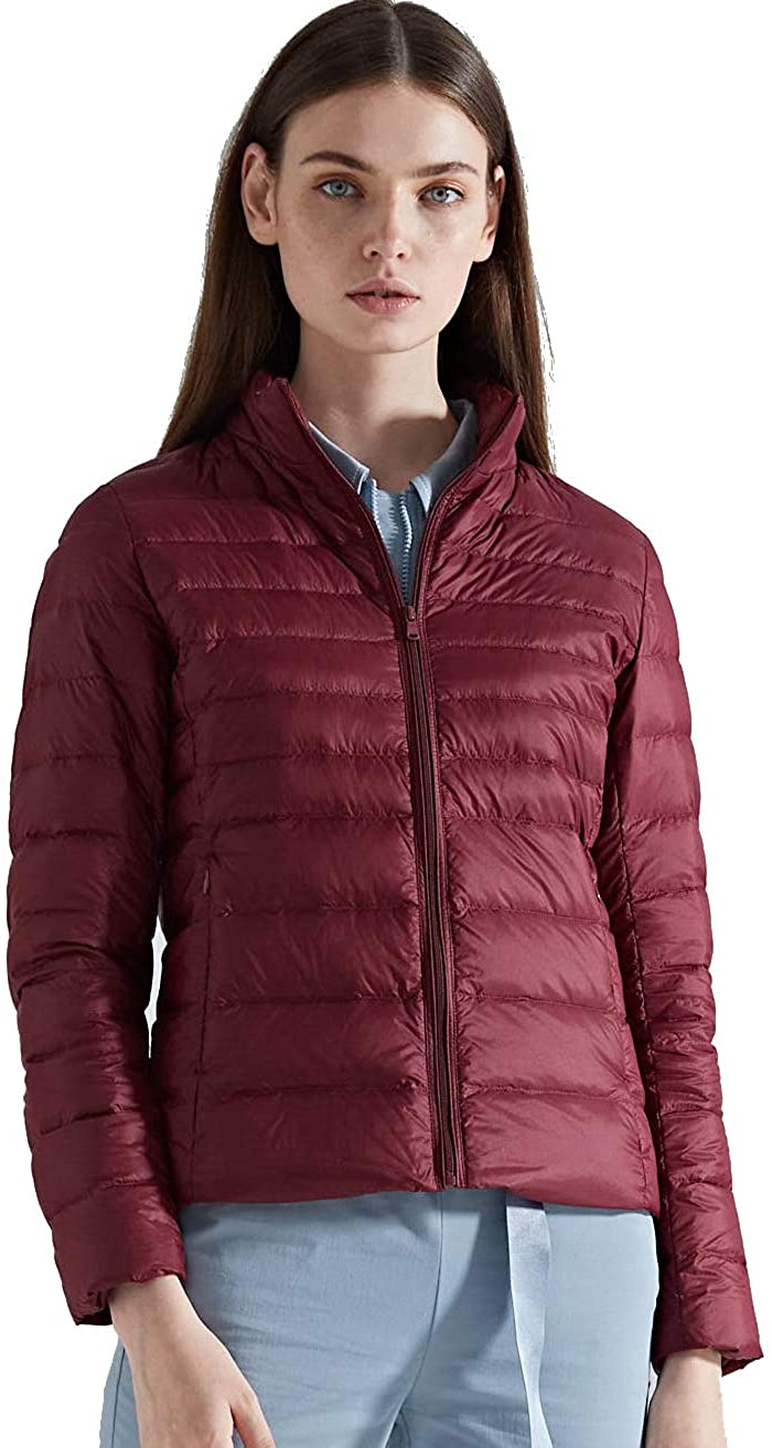 CHERRY CHICK Womens Utralight Down Jacket (Perfect for Spring & Autumn)