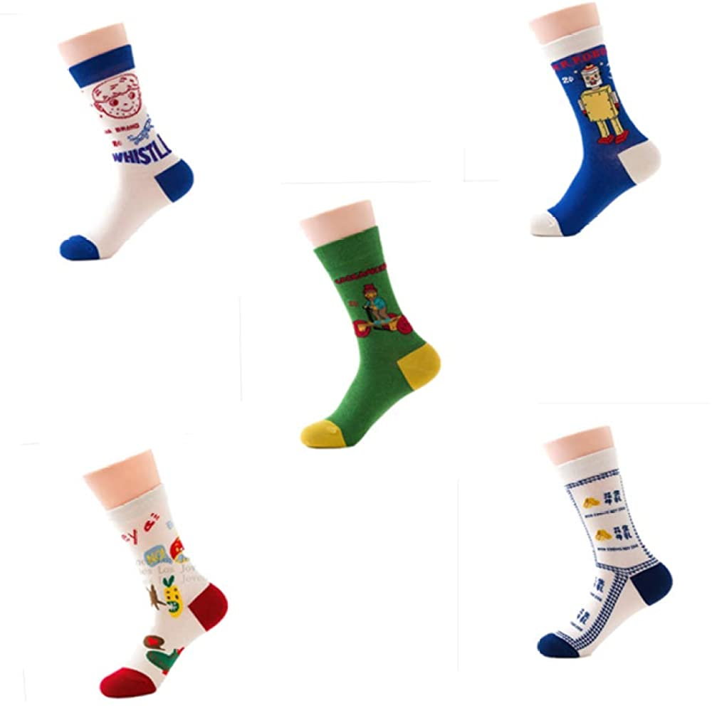 Women's socks spring creative cartoon sports ladies cotton socks women's socks