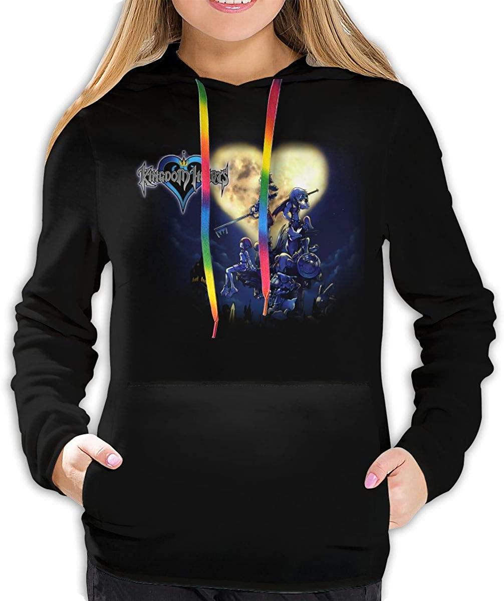 StephaSport Kingdom Hearts Woman Fashion Long Sleeve Pullover Hoodie Sweatshirts