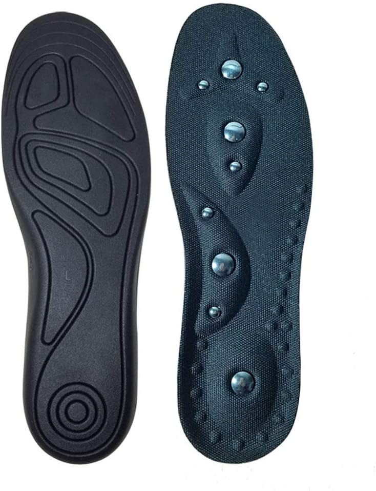 minansostey Arch Mat Massage Insoles Acupressure Therapy Foot Care PU Insole S/M/L Magnetic Shoe Pad