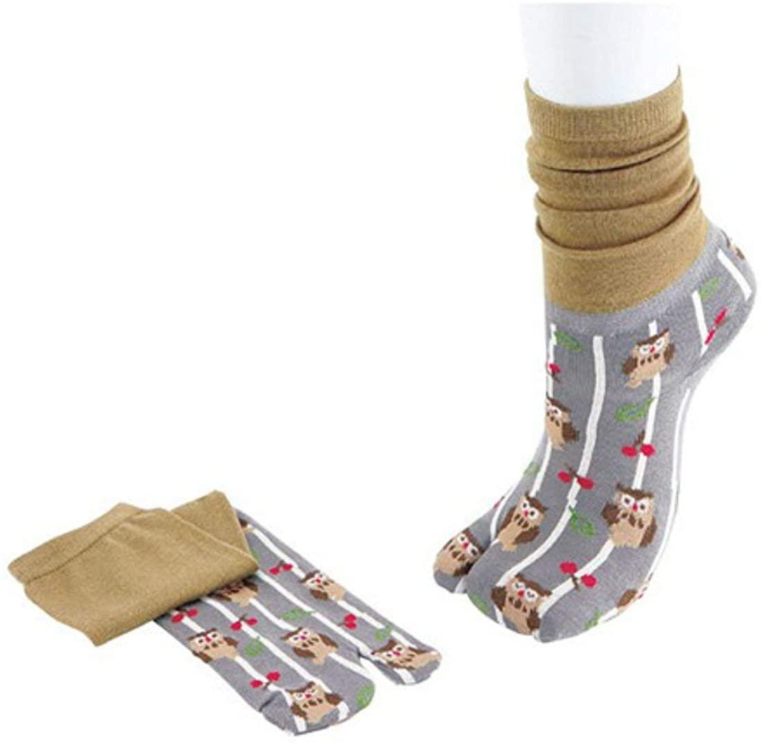Japanese Tabi Socks Fukurou