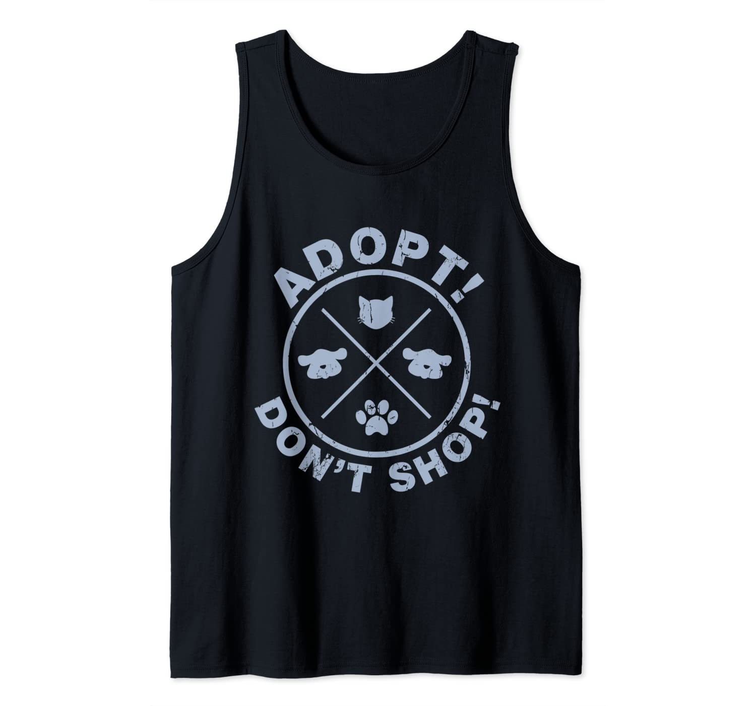 Funny I Love My Pet Cat Dog Animal Lover Gift Tank Top