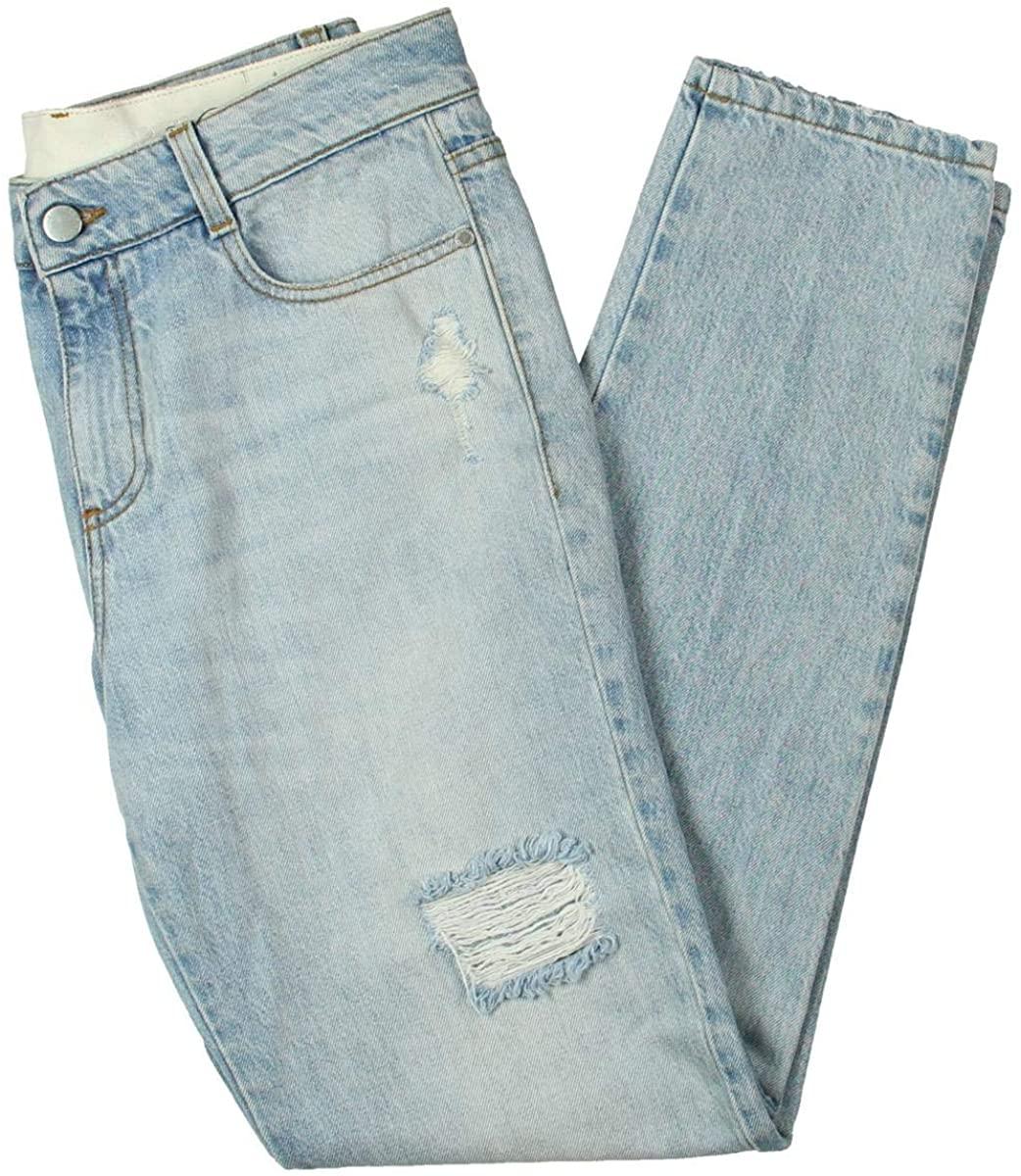 Stella McCartney Womens Denim Mid-Rise Jeans