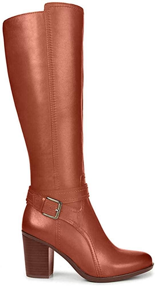 Naturalizer Womens Kelsey Almond Toe Knee High Fashion Boots