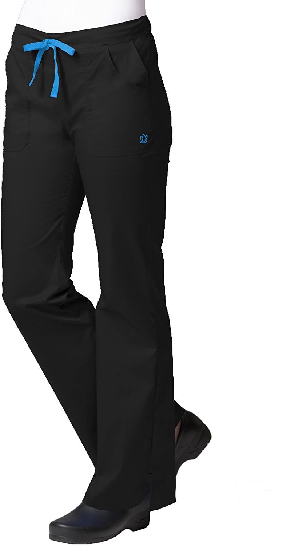 Maevn Womens Multi-Pocket Flare Pants