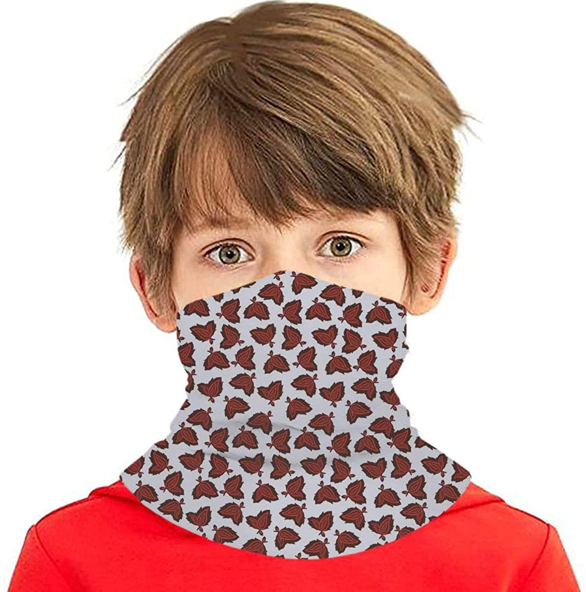 Youth Face Bandanas, Paisley Reusable Face Mask Half Face Towel Mouth Cloth Facial Scarf Variety Headscarf