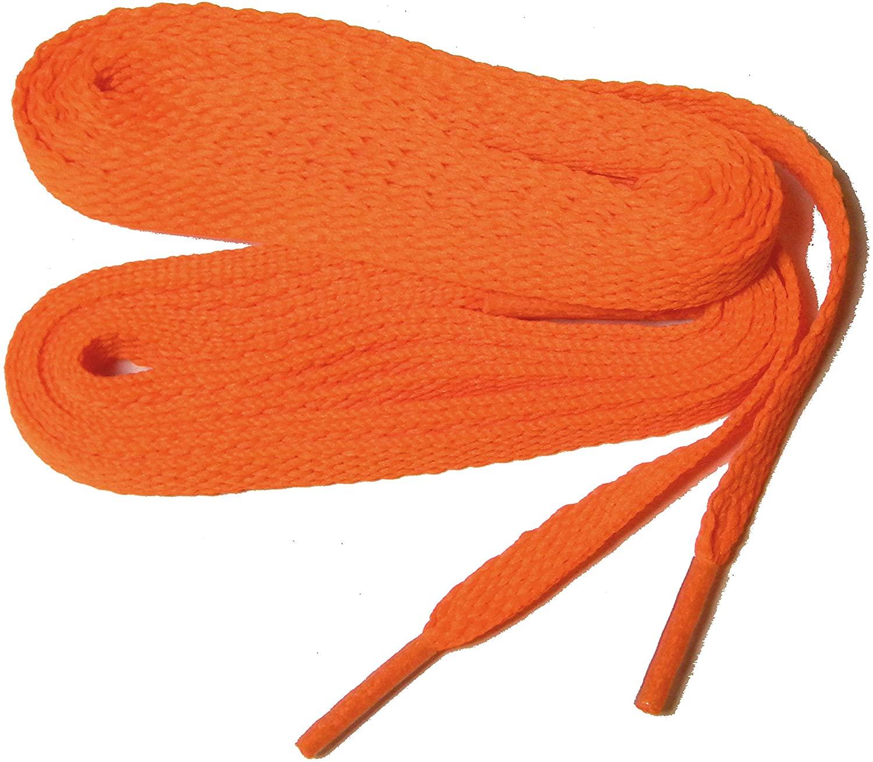 proATHLETIC 5/16 style 8mm Flat sneaker Laces Shoelaces Shoestrings - (2 pair pack)