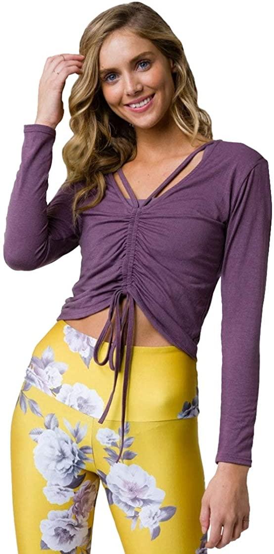 Onzie Prima Top Womens Active Pullover Hoodie
