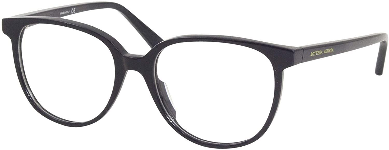 Bottega Veneta Minimalist BV1023O 004 Eyeglasses Women's Blue Optical Frame 52mm