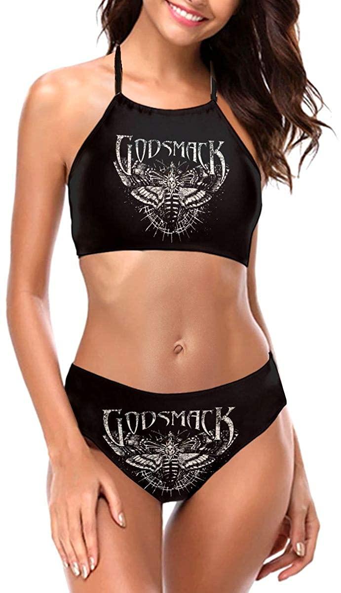 Caiyuzhuanmai Godsmack Sexy Women's Swimwear Swim Trunks Thickened Straps Bandage Bikini Swimsuit
