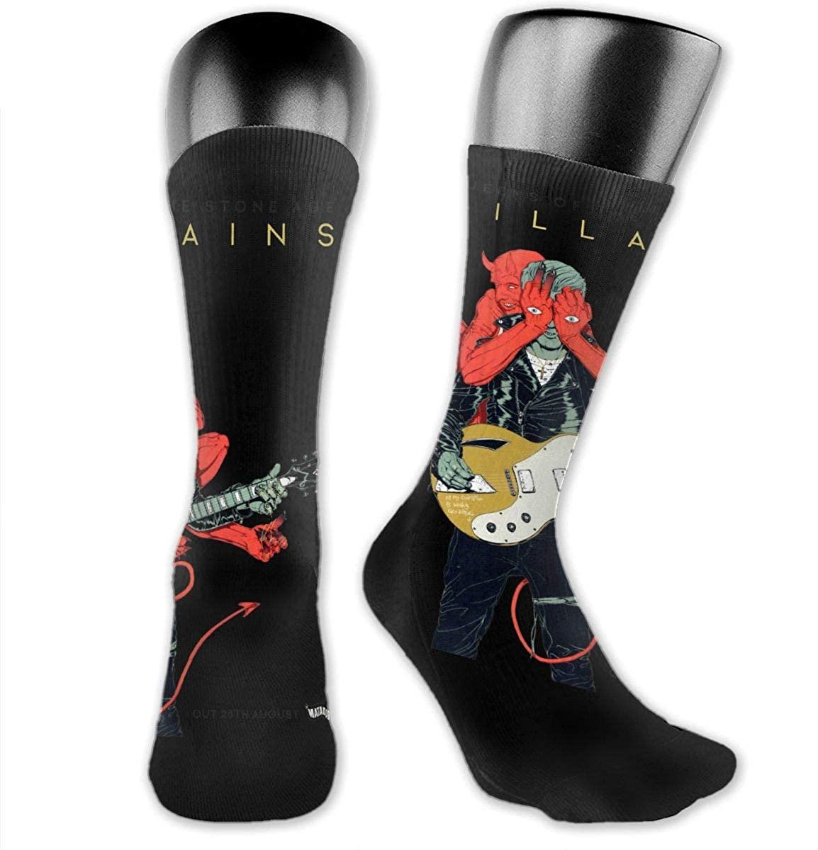Queens Of The Stone Age Medium Long Socks Dress Hose Novelty Short Anklet For Hiking