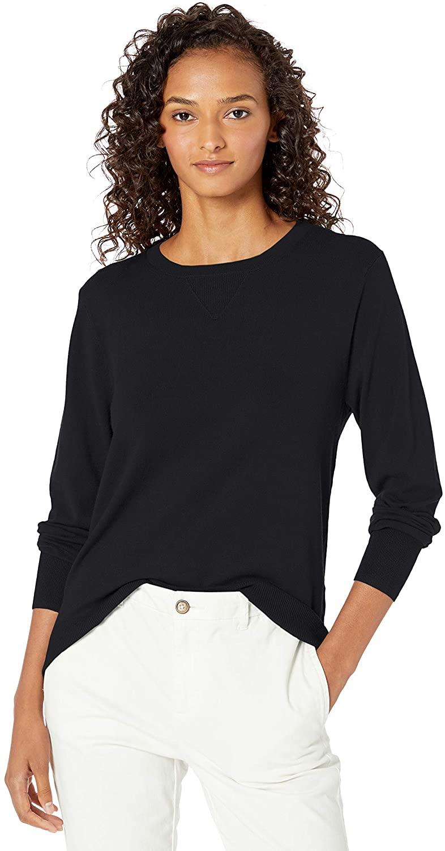 DHgate Brand - Daily Ritual Women's Fine Gauge Stretch Crewneck Pullover Sweater