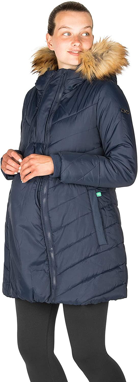 Modern Eternity Maternity Coat Puffer Chevron w/ 3-in-1 Tech   Lexi