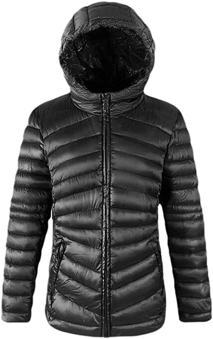 Jhsxydgy Womens Packable Ultra Lightweight Down Jacket Outwear Hoodies Puffer Coats