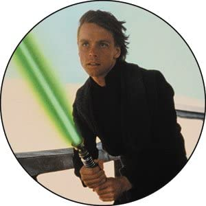 Star Wars - Luke Fighting -- Button