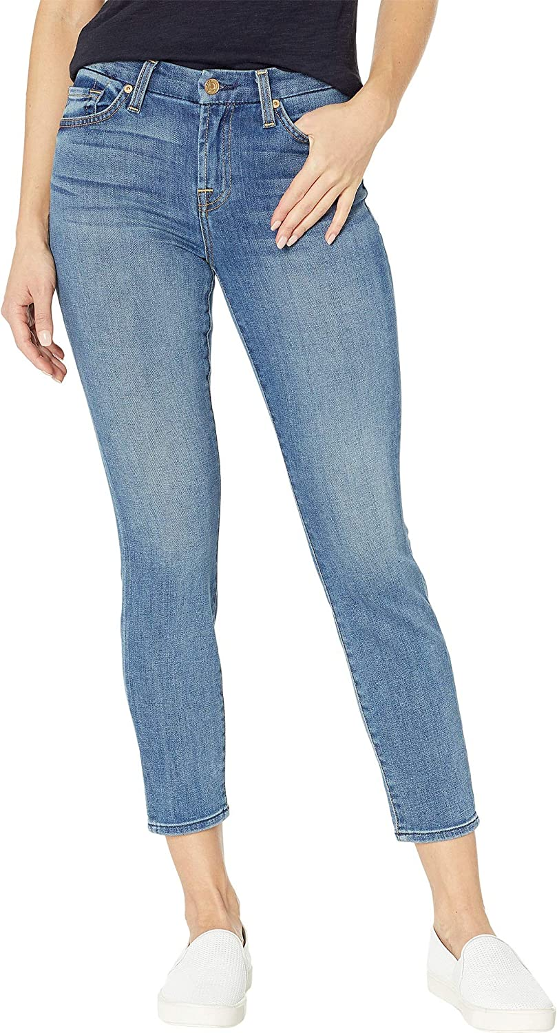 7 For All Mankind Women's Kimmie Crop in Primm Valley
