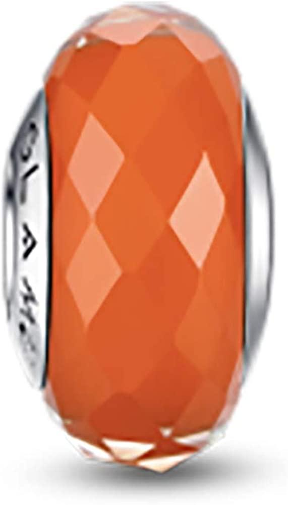 Glamulet Murano Glass Charms Beads for Pandora Bracelets Pandora Charm 925 Sterling Silver Disney Art Pendant Jewelry