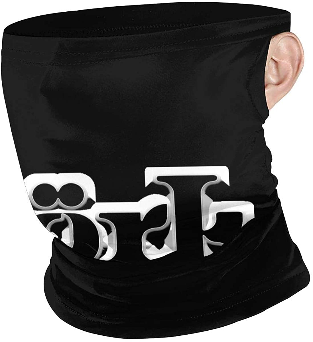 Bjork Unisex Anti Dust Mouth Shield,Sports Hanging Ear Windproof Face Shield For Teens