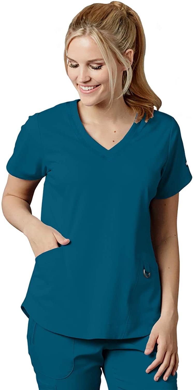 Grey's Anatomy Impact 7187 Women's Harmony Scrub Top Bahama XL