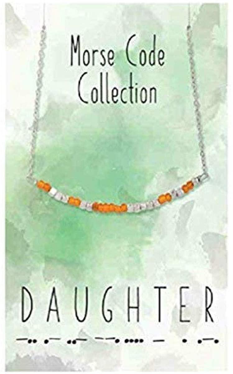 Carson Daughter Morse Code Necklace