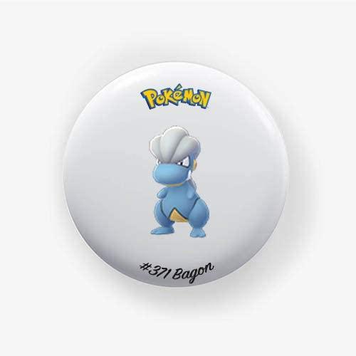 Bagon #371 : Go, Pinback Button Badge 1.50 Inch (38mm)