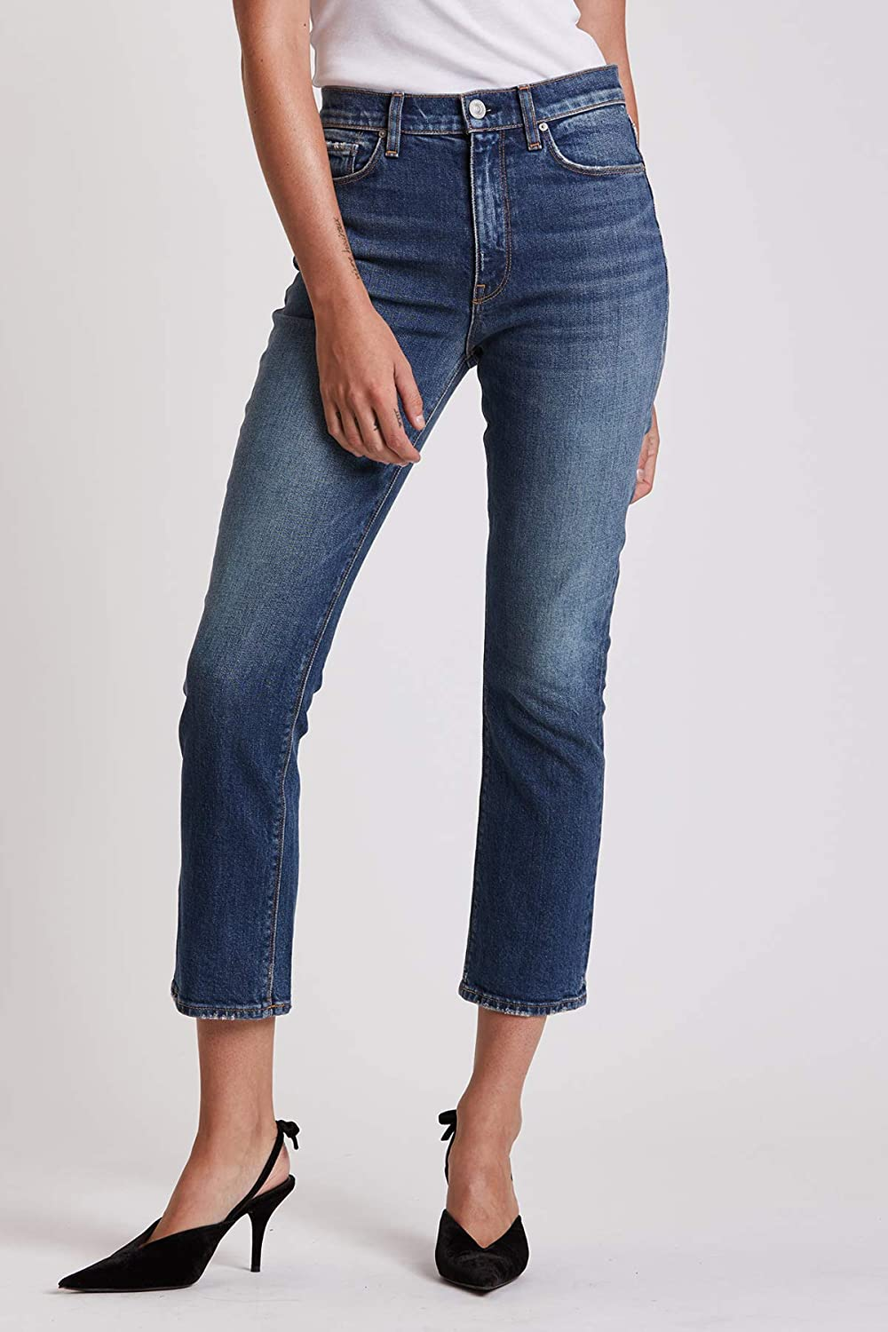 HUDSON Women's Holly High Rise Bootcut Crop Jean