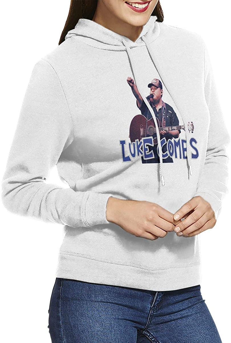 Walter K Haas Luke Combs Women Hoodies Sweater Coat Teen Girls Sweatshirt Pullover Jumper Outerwear Coat