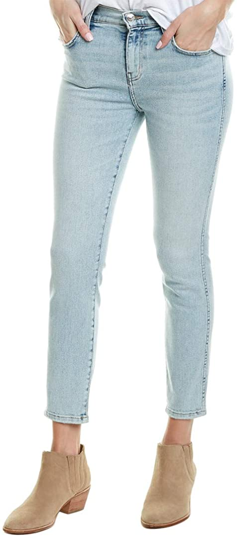 Current/Elliott Womens The Caballo Southside High-Rise Skinny Leg, 26, Blue