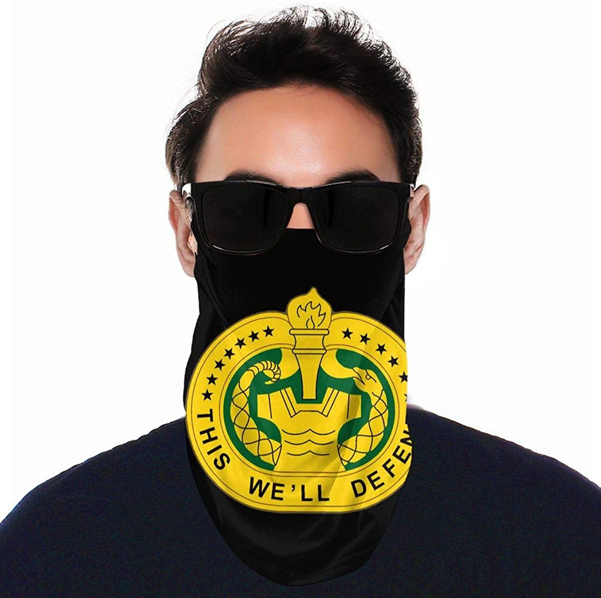 U S Army Drill Sergeant Logo Face Shield Neck Gaiter Face Protective Scarf Balaclavas Unisex