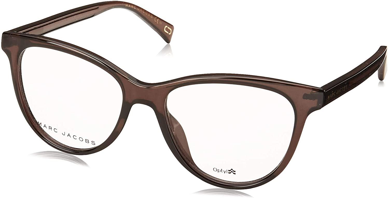 Marc Jacobs Marc 323/G KB7 Dark Grey Plastic Cat-Eye Eyeglasses 52mm