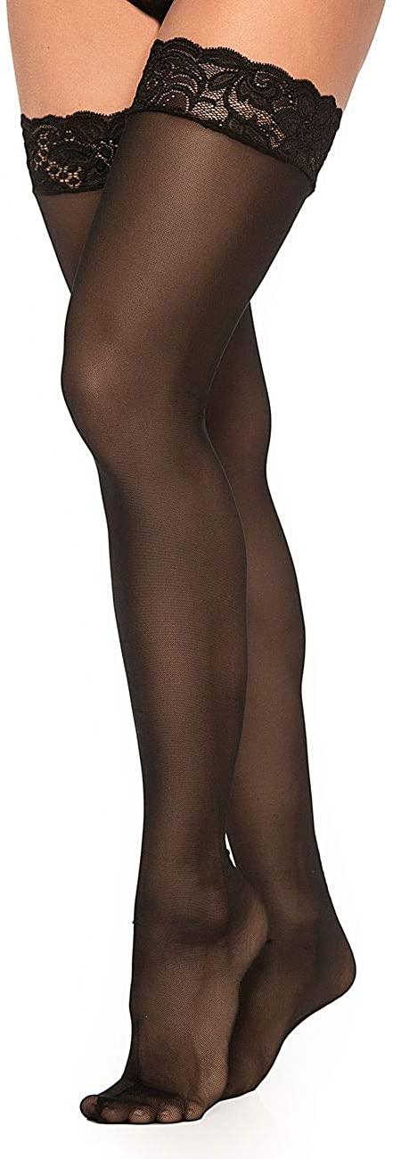 Mapalé Sexy Thigh High Stockings for Women Pantyhose Pantimedias para Mujer