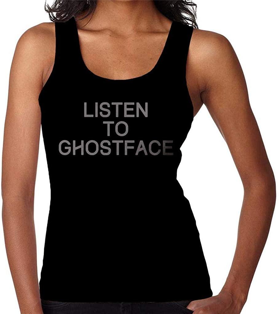 SHGNKSG Listen to Ghostface Killah Women's Vest