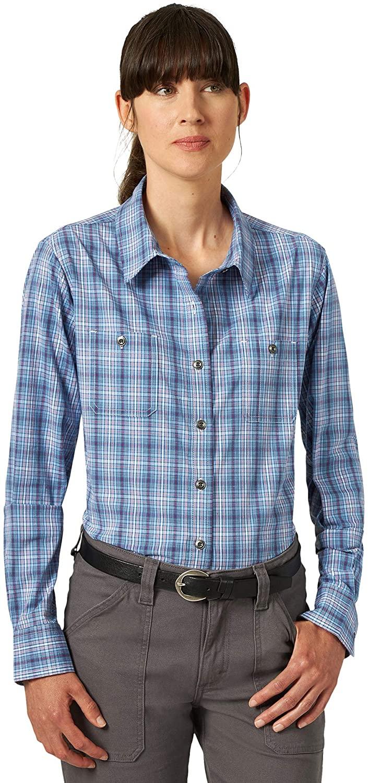 Wrangler Riggs Workwear Women's Long Sleeve Two Pocket Workshirt
