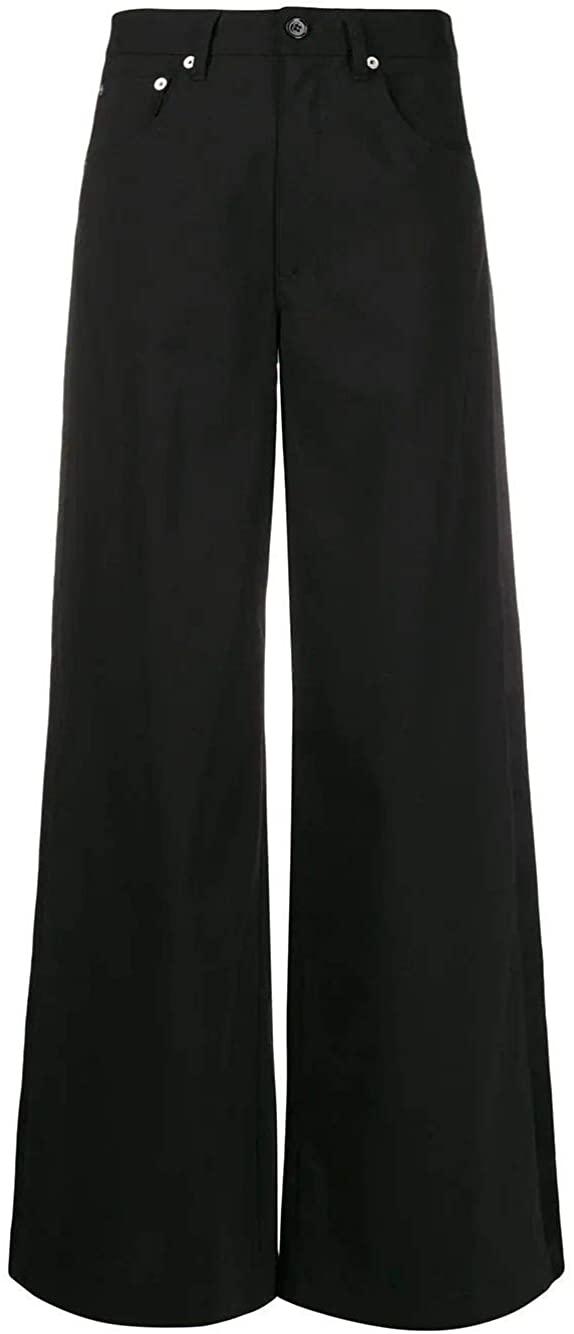 Maison Margiela Luxury Fashion Woman S52LA0125S52209900 Black Viscose Pants | Spring Summer 20