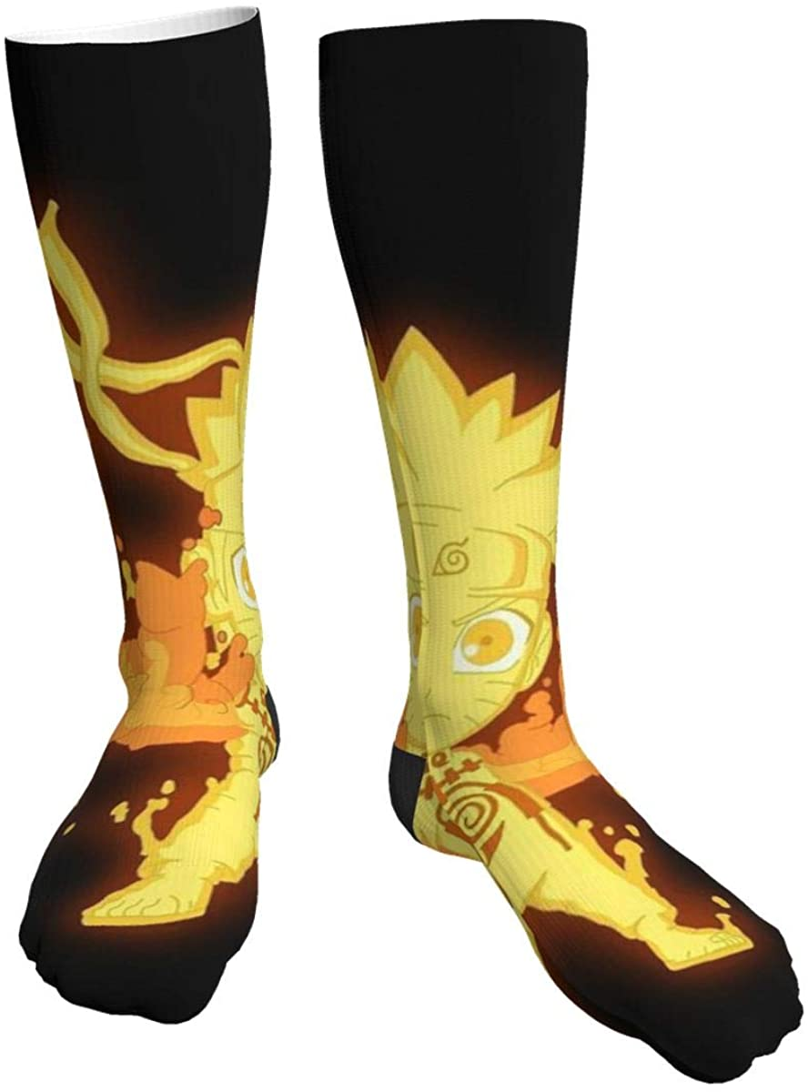 Casual Knee High Socks Naruto Compression Socks For Men Women Running, Hiking And Travel