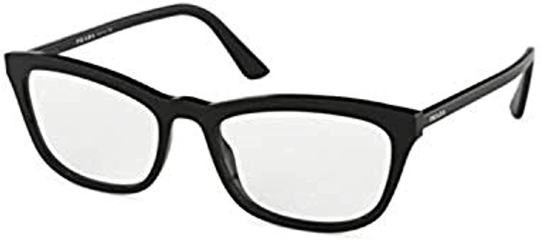 Prada CONCEPTUAL PR10VV Eyeglass Frames 1AB1O1-52 - PR10VV-1AB1O1-52