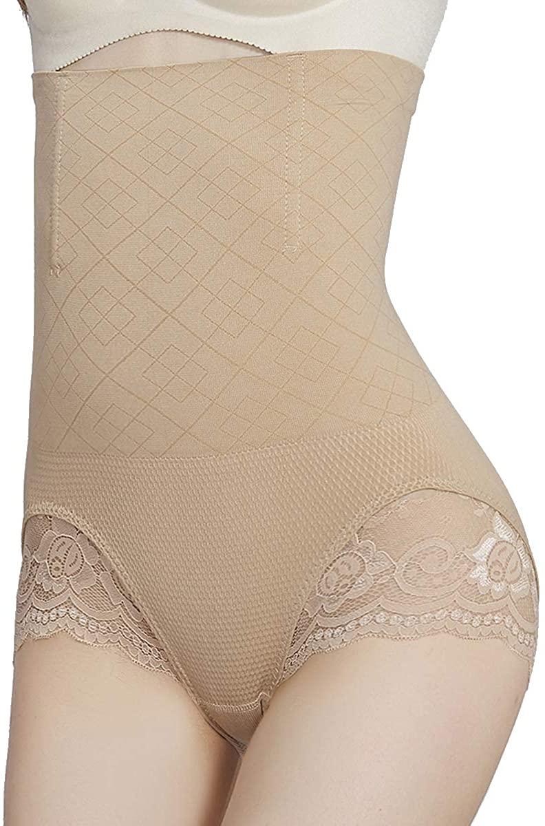 SURE YOU LIKE Women Hi-Waist Body Shaper Butt Lifter Panties Tummy Control Shapewear Waist Trainer Slimming Underwear