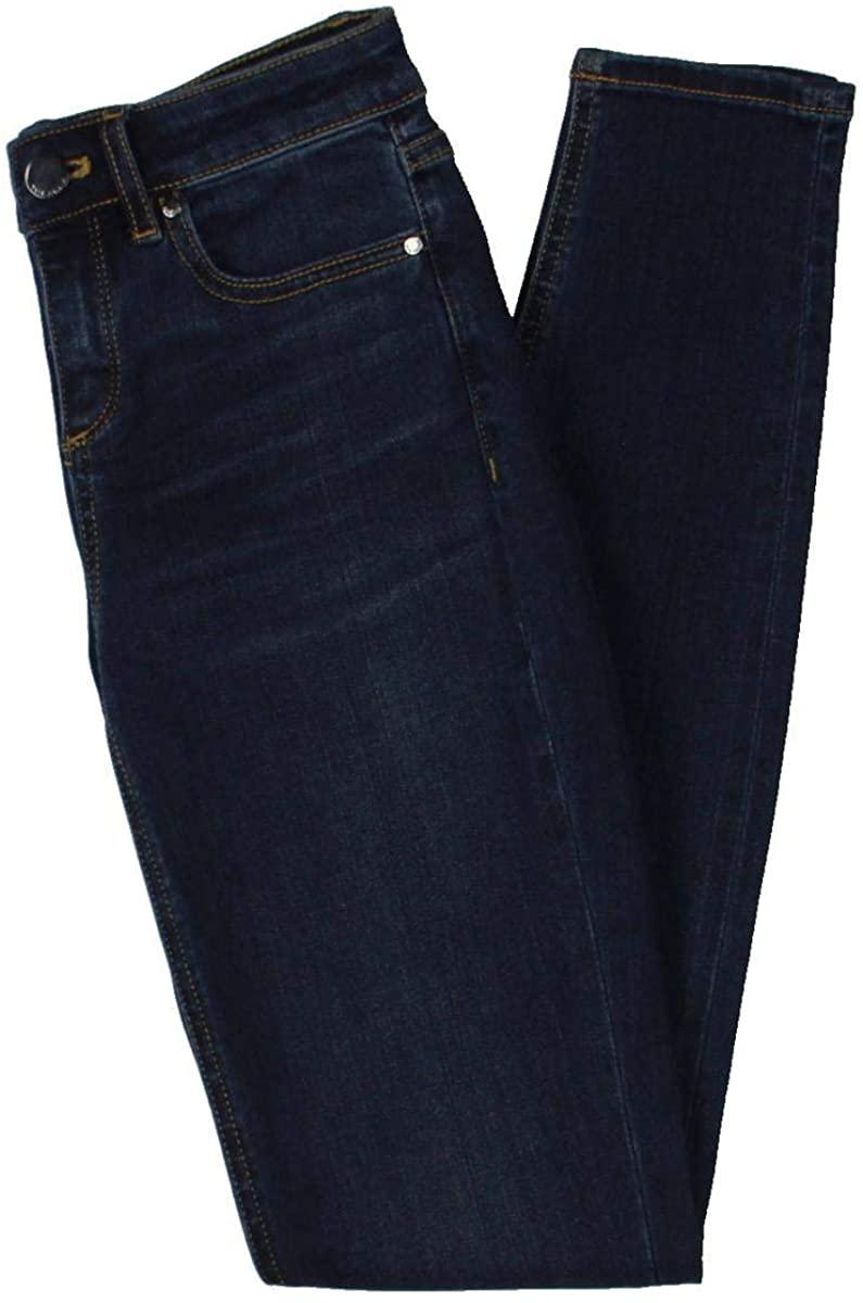 Elie Tahari Womens Azella Denim Mid Rise Jeans