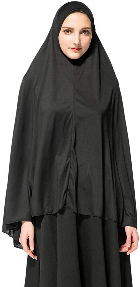 Muslim Headcloth Headbands Hijab Women Prayer Dress Hijab Long Scarf Islam
